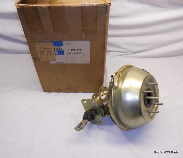NOS 69 70 Plymouth Dodge Chrysler Power Brake Booster