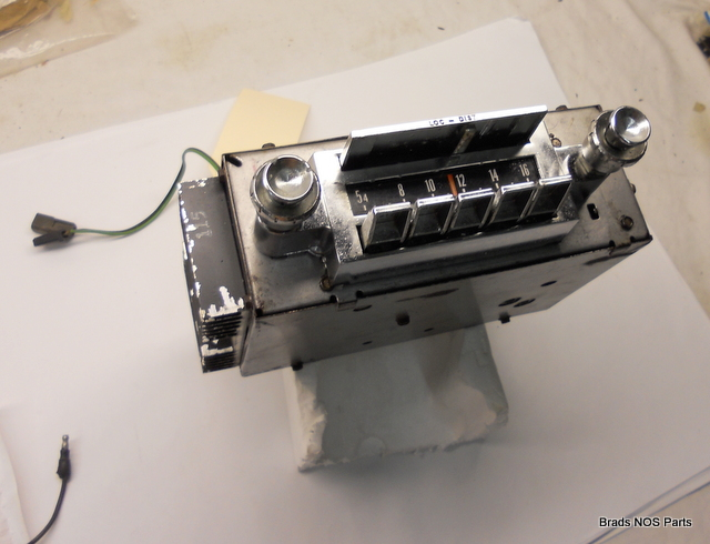 Good used Mopar 1965 Chrysler Imperial RADIO ASSY WITH ...