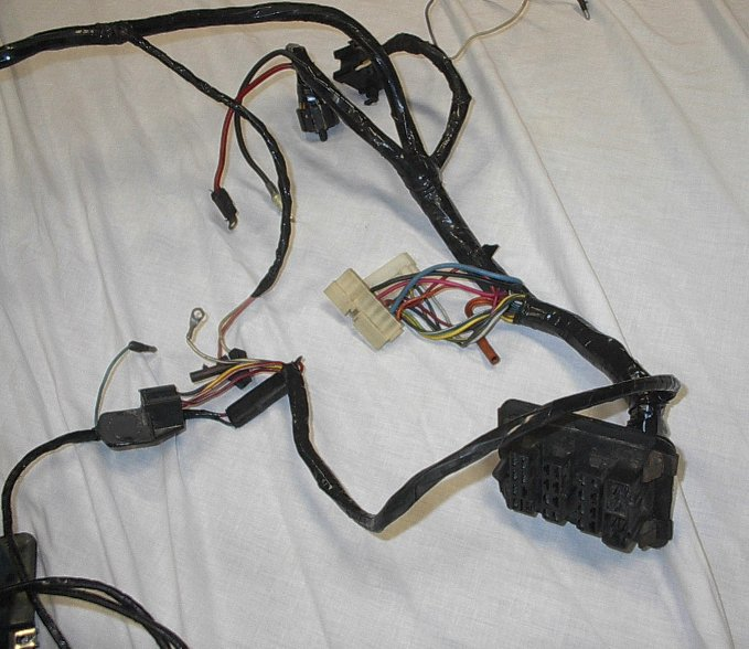 mopar 1972-1973 dodge d,w truck reconditioned underdash ... 1973 dodge truck wiring harness 1977 dodge truck wiring harness